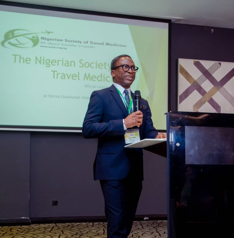 The NSTM Chairman Delivering a Speech at the official launch